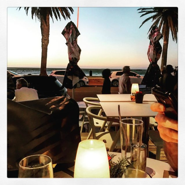 sunset at the41restaurant capetown campsbay whaletalesblog lovemylife