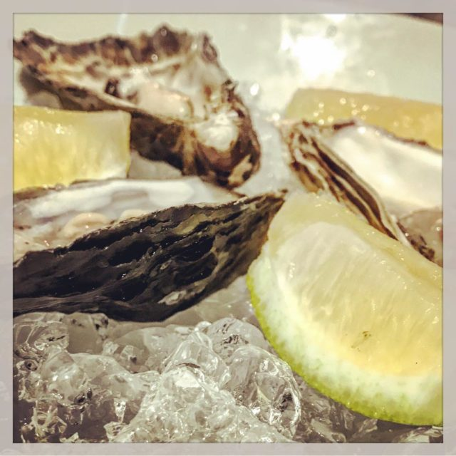 Oysters at the41restaurant campsbay sunset capetown whaletalesblog llewellynwho lovemylife